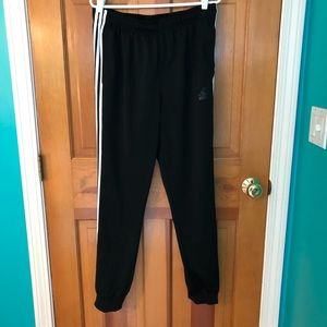 NWOT Adidas Black Joggers